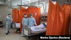 Lekari u bolnici KBC Zvezdara u Beogradu, 30. april 2020.