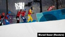 Чоловіча командна естафета з біатлону, Пхьончхан, Південна Корея, 23 лютого 2018 року
