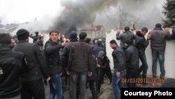 Ադրբեջան - Անկարգությունները Գուբա քաղաքում, 1-ը մարտի, 2012թ.