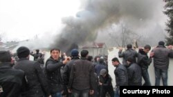 Губа, Азербайджан, 1 марта 2012 года.