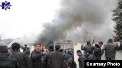 Azerbaijan - Riots in Guba region, 01Mar2012