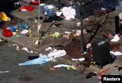 После взрыва, 16 апреля