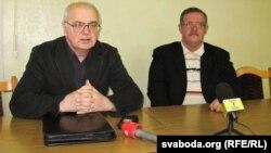Уладзімер Колас і Віктар Івашкевіч