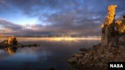California's Mono Lake hosts bacteria that scientists say may redefine life as we know it.
