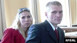 Алена і Сяргей Каваленкі, архіўнае фота.