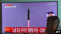 کره شمالی مدعی است که با موشک بالیستیکی که به تازگی آزمایش کرد، قادر است خاک آمریکا را هدف قرار دهد.