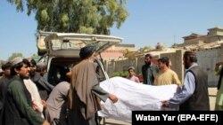 Helmand vilayətində Əfqanıstan xüsusi qüvvələrinin növbəti reydindən sonra, 23 sentyabr, 2019-cu il