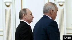 Путин ва Каримов