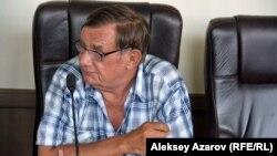 Участник обсуждения ученый-лесовод Сергей Чекалин. Алматы, 1 августа 2018 года.