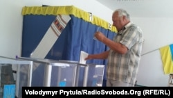 Pamje nga votimi në Ukrainë