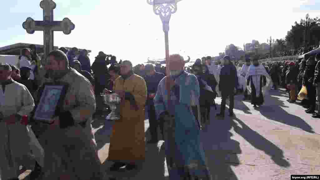 Хресна хода дійшла до каплиці Новомучеників і Сповідників Російських
