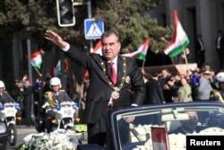 Инаугурация президента Эмомали Рахмона. Душанбе. 16 ноября 2013 года.