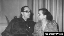 Аркадий и Наталья Белинковы, 1968