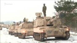 Американская армия прибывает в Польшу для сдерживания России (видео)