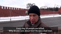 Suspicion And Indifference In Moscow One Year After Nemtsov Killing
