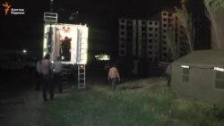 Эвакуация из аварийного дома