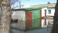 Су басқан Донецкое ауылы