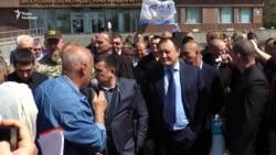 У Запоріжжі вимагали відставки голови ОДА Костянтина Бриля (відео)