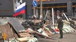 Луганскда Россияпараст намойишчилар