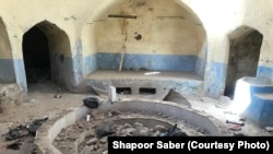 Herat's Jewish bathhouse is more than 250 years old and has been partially demolished -- without legal permission.