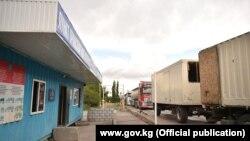 Пункт транспортного контроля «Сосновка» в Чуйской области, июнь 2021 г.