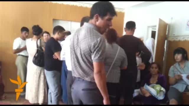 Türkmenabat: ZAGS-daky nobatlar