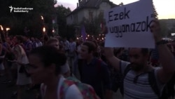 Hungarian Opposition Protests Against Putin's Visit