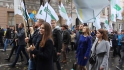Protesters In Kyiv Demand Electoral Reforms