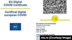 Certificat digital covid