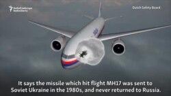 Noile explicații rusești despre MH17 au fost primite cu scepticism