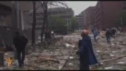 Осла: выбух ля ўрадавага будынку