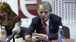 Cemilev Kiyevde kitapnıñ taqdimname tedbirinde iştirak etti