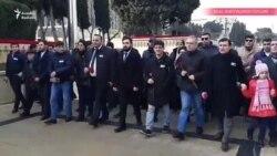 """REAL və Müsavat partiyasının üzvləri """"Şəhidlər xiyabanı""""nı ziyarət etdilər"""