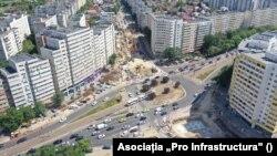 Multe dintre marile orașe nu au încă centură ocolitoare, așa că traficul trece prin centrul localității