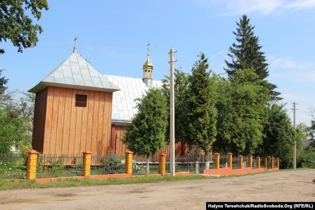 Церква в селі Шептиці, 22 липня 2015 року