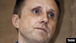 Алексей Пичугин в зале суда. Август 2007 года