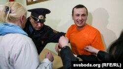 Ілюстрацыйнае фота. Суд над Максімам Філіповічам у Савецкім судзе Гомеля 23 сакавіка 2017 году