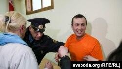 Максім Філіповіч у судзе, 23 сакавіка 2017 году