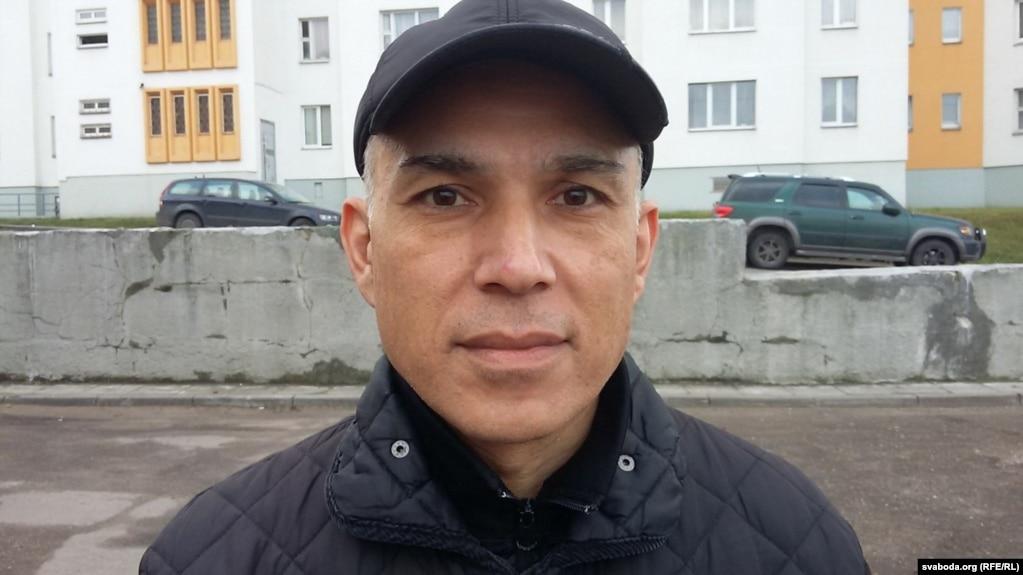 Mehrdad Jamshidian (shown in December 2015) has lived in Belarus since 1993.