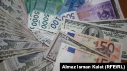 Сомы, доллары, евро