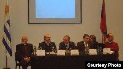 Уругвай - Презентация проекта строительства Музея Геноцида армян в Монтевидео, 17 июля 2013 г.