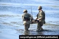 Під час навчань «Сі Бриз-2018». Фото прес-служби ВМС України