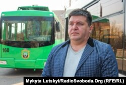 Директор Бахмутского троллейбусного депо Владимир Капарунин