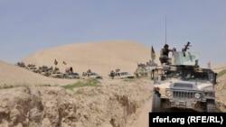 نیروهای افغان در فاریاب
