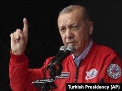 Түркиянын президенти Режеп Тайып Эрдоган.