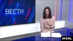 "Телеведущая ГТРК ""Камчатка"" Александра Новикова"