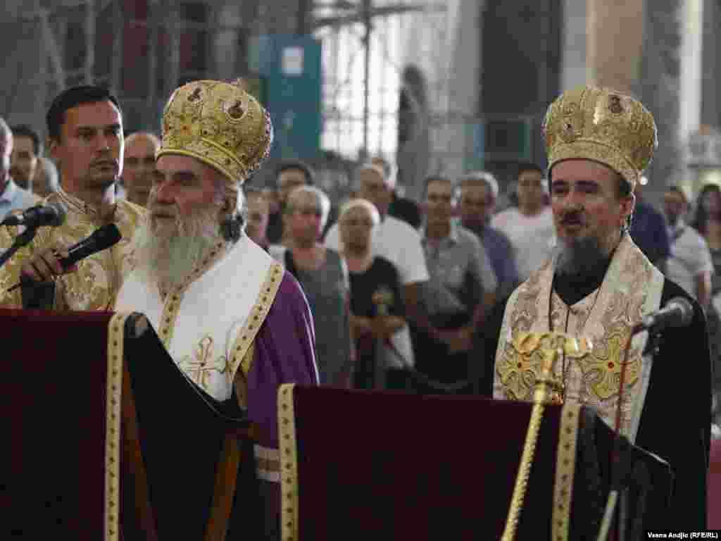 Moleban za Kosovo, 22. jul 2010. FOTOGRAFIJE: Vesna Anđić
