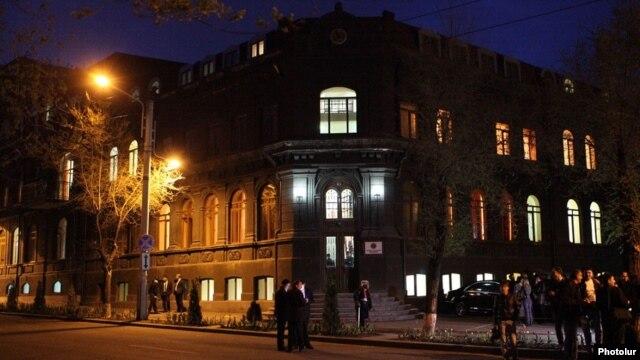 Armenia - The headquarters of the ruling Republican Party of Armenia, Yerevan, 10Apr2014.
