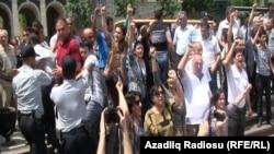 """Акция протеста """"Общественной Палаты"""" 14 мая"""