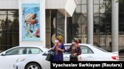 პირბადიანი ქალები თურქმენეთში